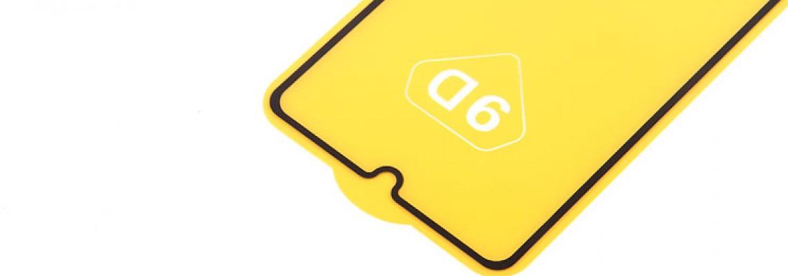 Пополнение ассортимента - защитное стекло Full Glue на полный экран, арт.010630