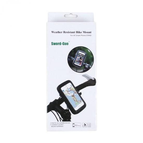 Держатель на зеркало мотоцикла для телефонов до 6.3, арт.010485