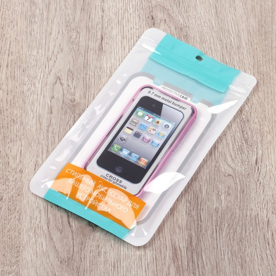 Бампер металлический для iPhone 4/4S, арт.006783