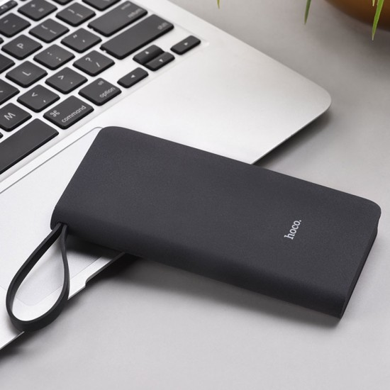 Внешний аккумулятор универсальный Hoco J25A 10000 mAh с кабелем Micro, арт.011249