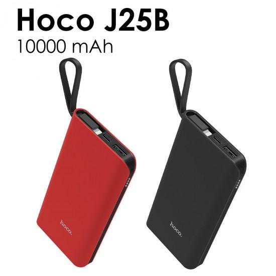 Внешний аккумулятор универсальный Hoco J25B 10000 mAh с кабелем Type-C, арт.011250