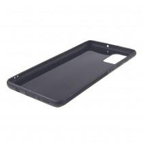 Чехол для Samsung Galaxy A71 черный силиконовый с защитой камеры, арт.012424