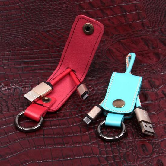 USB дата кабель для Samsung Galaxy series/micro USB + ключница, арт.009840