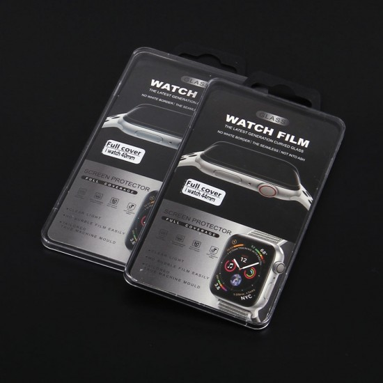 Защитное стекло Full Glue для Apple Watch 40мм, арт.010883