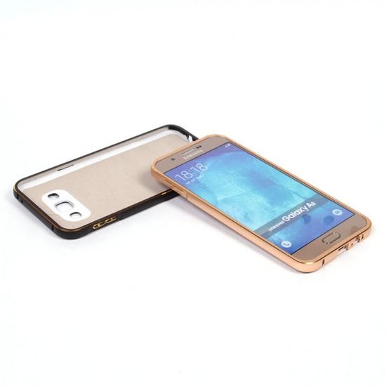 Бампер + задняя крышка для Samsung Galaxy A8 (2015), арт.009077