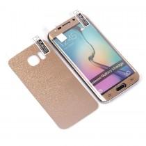 Декоративная пленка 3D 2 в 1 для Samsung Galaxy S6 edge 0.3 mm, арт.009468