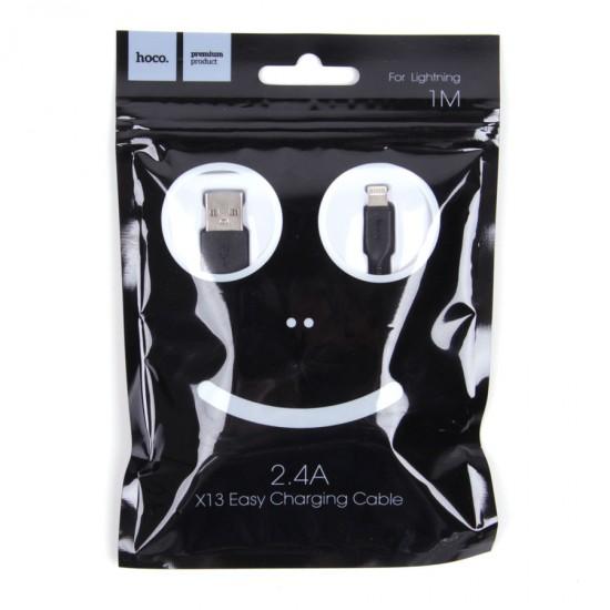 USB-Lightning дата кабель HOCO X13 для iPhone, 1 м, арт.010114