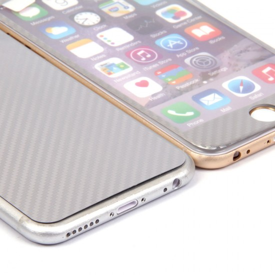Декоративная пленка 3D 2 в 1 для iPhone 6/6s 0.3 mm, арт.009467