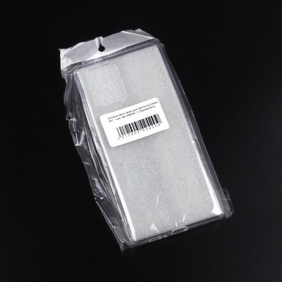Силиконовый чехол для Samsung Galaxy A91, 1 мм, арт.008291-1