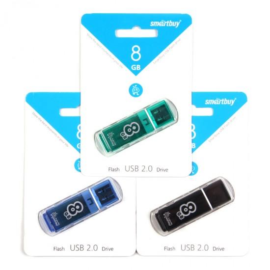Флеш-накопитель 8 Gb Smart Buy Glossy series