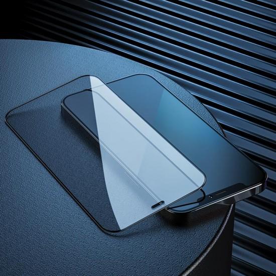 Защитное стекло Hoco для iPhone 12 / 12 Pro  на полный экран, арт.012051