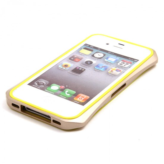 Бампер металлический Cleave 2 в 1 для iPhone 4/4S, арт.007425