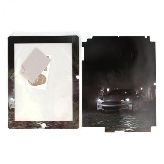 Декоративная пленка 2 в 1 для iPad 2/3/4, арт.D-003