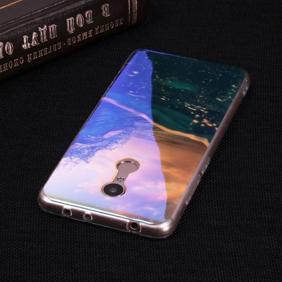 Панель ТПУ Blue Shine для Xiaomi Redmi 5, арт.010439