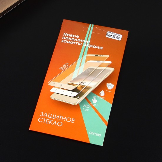 Защитное стекло Full Glue для Huawei Honor 20 Pro на полный экран, арт.010630