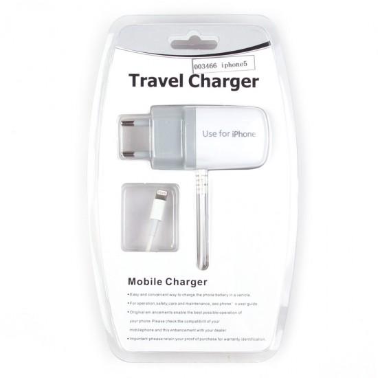 Сетевое зарядное устройство для iPhone 5/iPad mini 1000 mAh, арт.003466