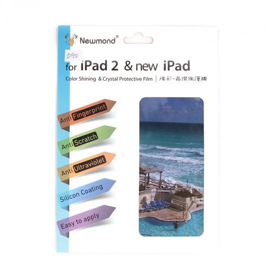 Декоративная пленка 2 в 1 для iPad 2/3/4, арт.D-006