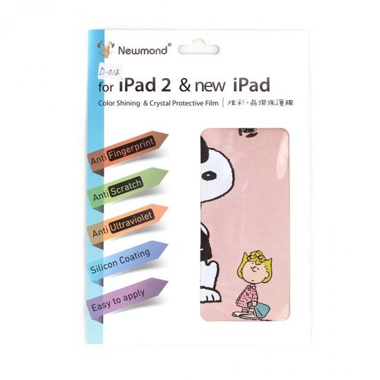Декоративная пленка 2 в 1 для iPad 2/3/4, арт.D-012