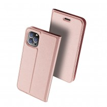 Чехол-книжка Dux Ducis Skin Pro для Xiaomi Redmi Note 8 Розовое золото, арт.012258
