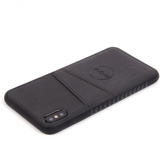 Магнитный чехол с карманом для iPhone XS Max, арт.010637