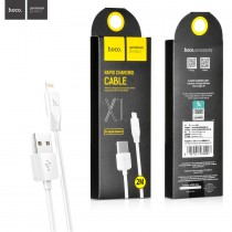 USB дата кабель HOCO X1 для Apple iPhone 5/6/7, 2 м, арт.009620