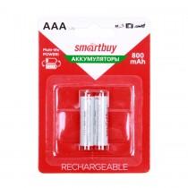 Аккумулятор AAA SmartBuy R03 NiMh 800mAh (блистер 2 шт), арт.010269