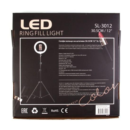 Кольцевая лампа 30.5см 12