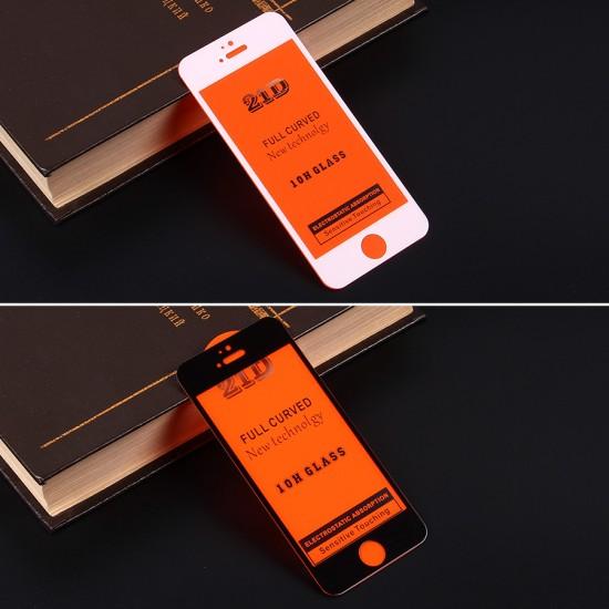 Защитное стекло Full Glue для iPhone 5/5S на полный экран, арт.010630