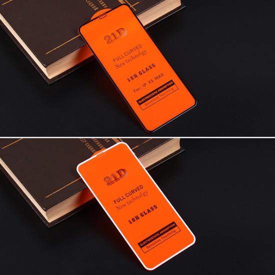 Защитное стекло Full Glue для iPhone XS Max на полный экран, арт.010630