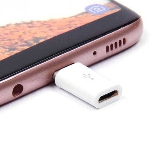 Адаптер с micro USB/Galaxy Series на Type-C, арт.009803