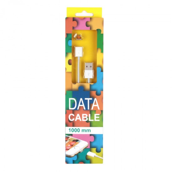 USB дата кабель магнитный для Apple iPhone 5/5S/6/6 Plus/7, арт.009839