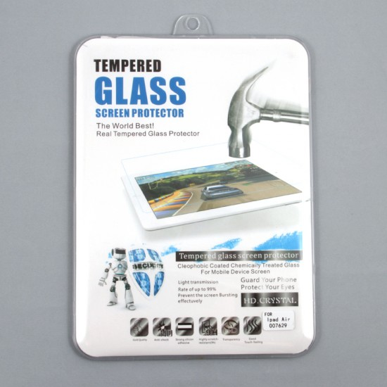 Защитная пленка-стекло для iPad Air, арт.007629