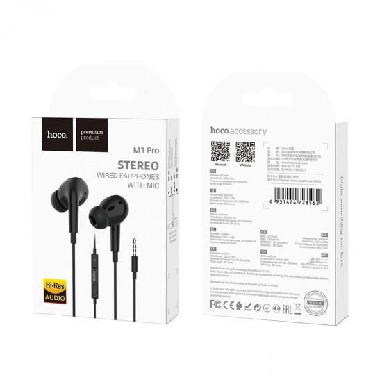 Наушники с микрофоном Hoco M1 Pro 3.5 mm, арт.012168