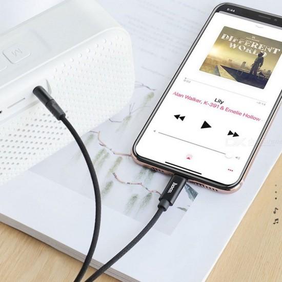 Aux аудио кабель Hoco UPA13 для Lightning, 1 м, арт.011661