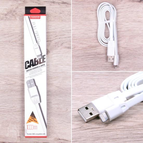 USB-Lightning дата кабель для iPhone 5/6/6+/7, арт.009783