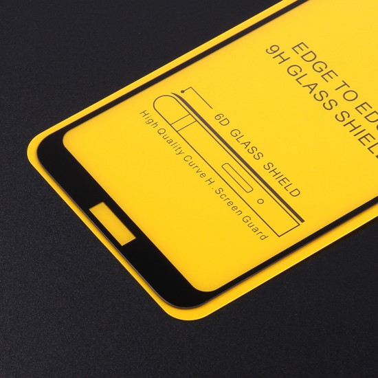 Защитное стекло Full Glue для Huawei Honor 8A на полный экран, арт.010630