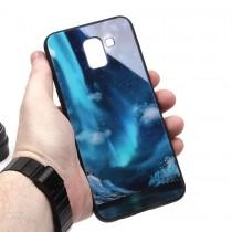 Глянцевый чехол для Samsung Galaxy J6 (2018), арт.010694