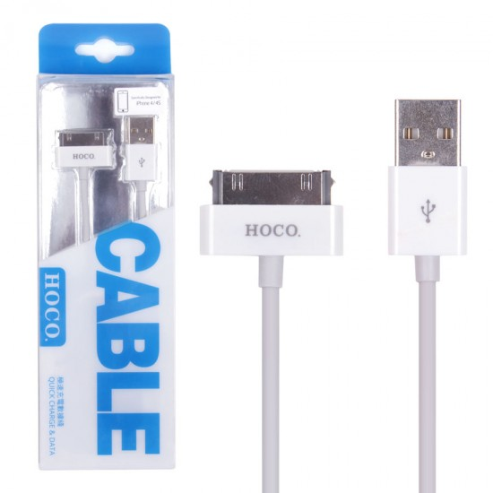 USB дата кабель HOCO UP 301 для Apple iPhone 4/iPad 3, арт.010119