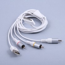 AV кабель для Apple iPad/iPhone/iPod с USB, арт.002908