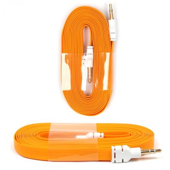 Aux аудио кабель iPhone/iPad/Samsung Galaxy 3 метра, арт.008721