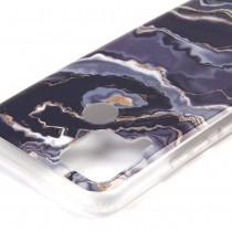 Чехол для Realme C15 Мрамор, ТПУ, арт.012727