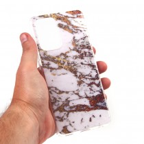 Чехол для Samsung Galaxy A52 5G Мрамор, ТПУ, арт.012726