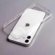 Силиконовый чехол для iPhone 12, 1 мм, арт.008291-1
