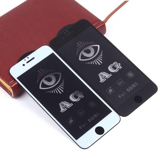 Защитное стекло Full Glue матовое для iPhone 6/6S на полный экран, арт.011465