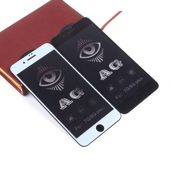 Защитное стекло Full Glue матовое для iPhone 7 Plus на полный экран, арт.011465