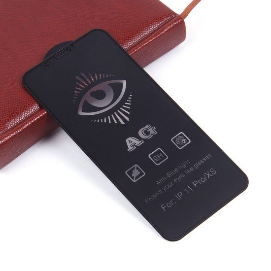 Защитное стекло Full Glue матовое для iPhone X/XS на полный экран, арт.011465