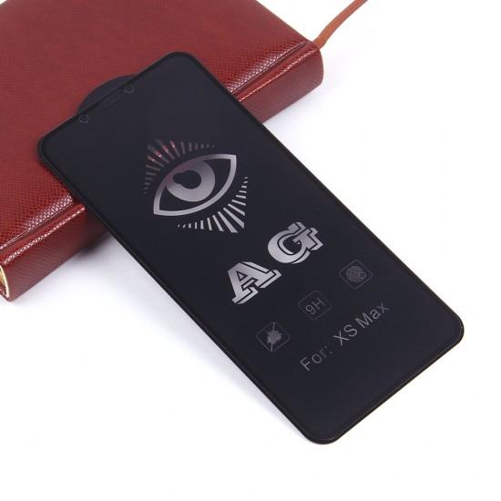 Защитное стекло Full Glue матовое для iPhone XS Max на полный экран, арт.011465
