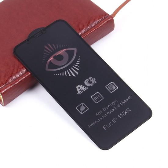 Защитное стекло Full Glue матовое для iPhone 11 на полный экран, арт.011465