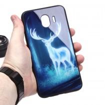 Глянцевый чехол для Samsung Galaxy J4 (2018), арт.010693