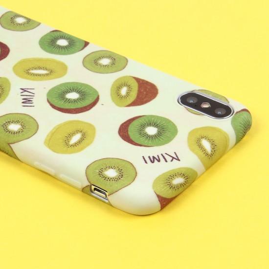 Чехол ТПУ Фрукты для iPhone XS Max, арт.011527